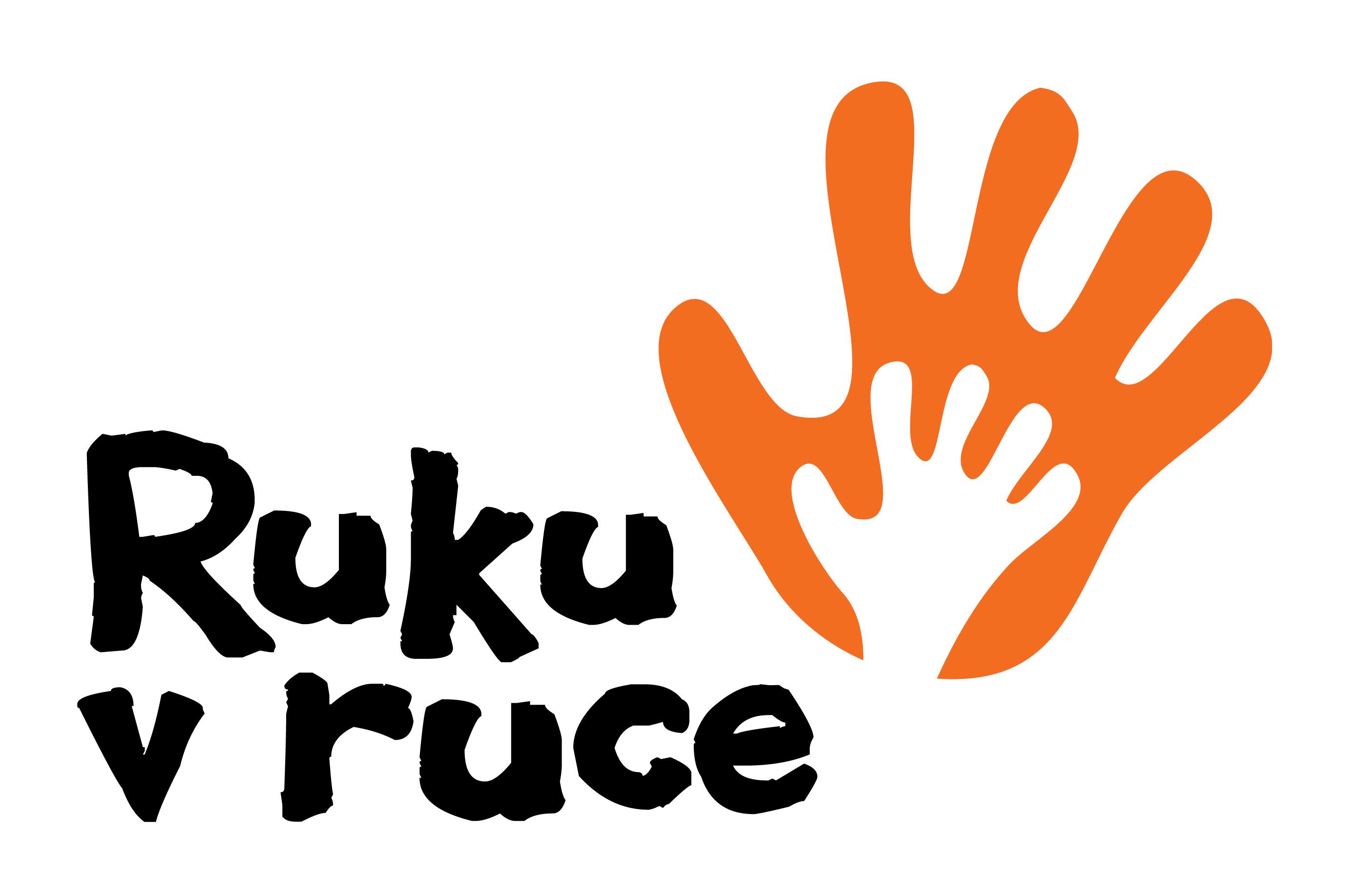 logo Ruku v ruce